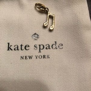 Kate Spade Music Note Charm